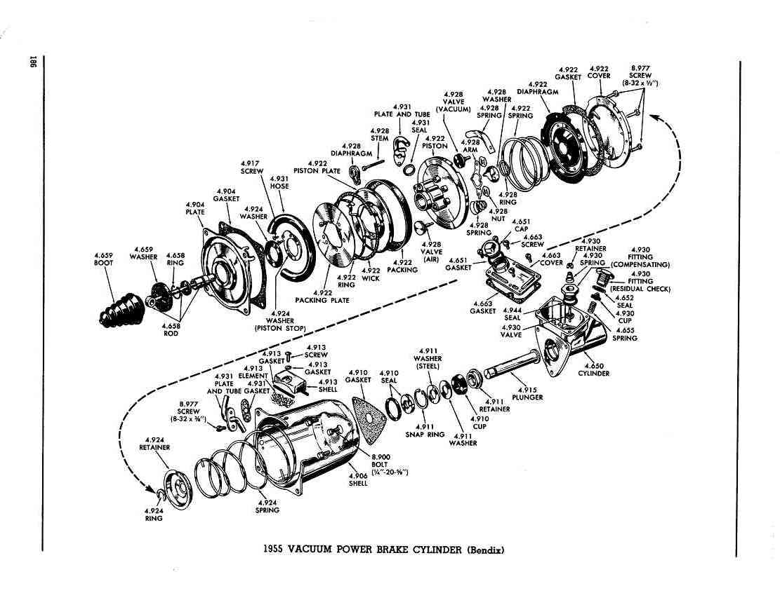 bendix air brake valve diagram